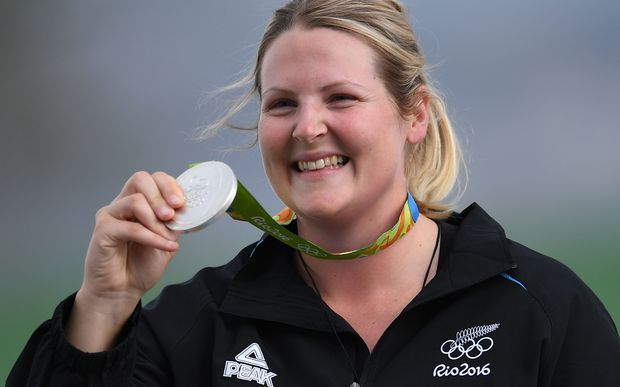 Natalie Rooney, Olympic Silver Medal