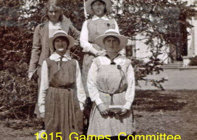 1915 Games Committee