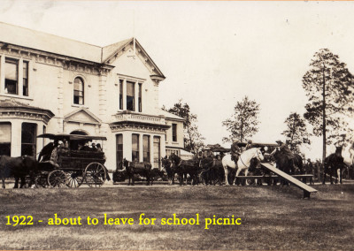 1922 School Picnic