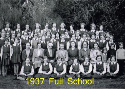 1937 Full school