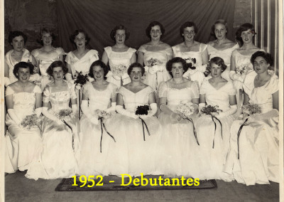 1952 debutantes