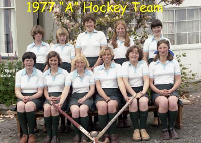 1977 A Hockey team