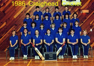 1986 Cricket