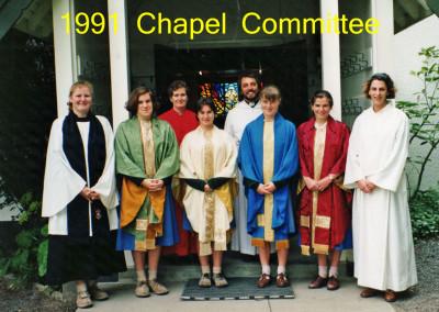 1991 Chapel Committee
