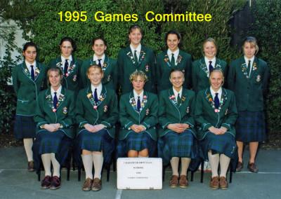 1995 Games Committee