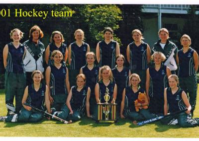2001 First Eleven Hockey te