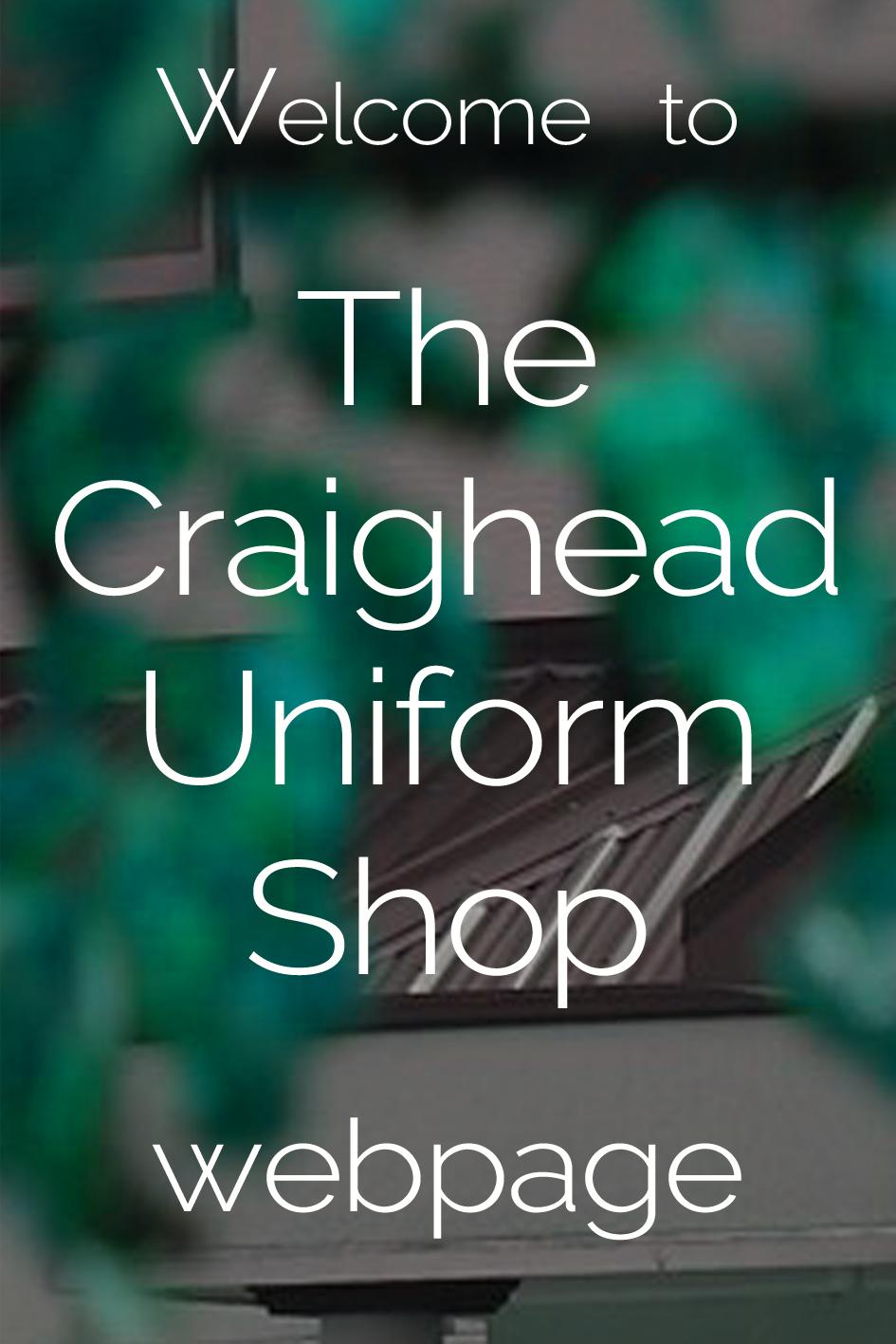 Uniform shop welcome5